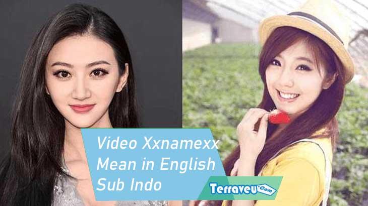 Video Xxnamexx Mean in English Sub Indo