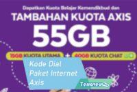 Kode Dial Paket Internet Axis