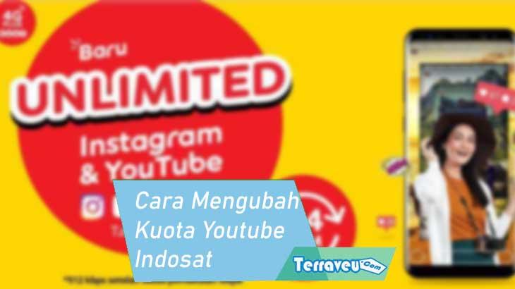 Cara Mengubah Kuota Youtube Indosat