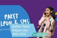 Daftar Paket Nelpon dan SMS AXIS